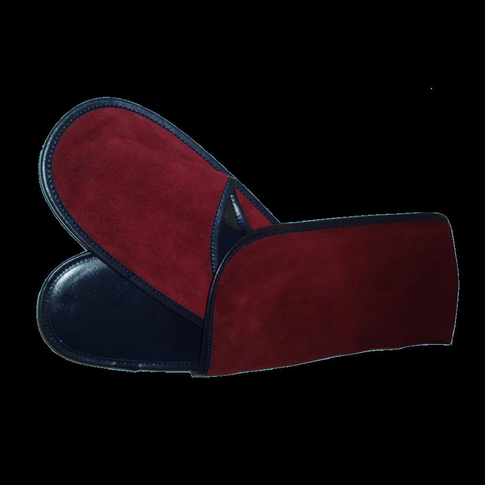Interbags piel pantouffles cuir qualite personnalise for Housse a chaussures de voyage